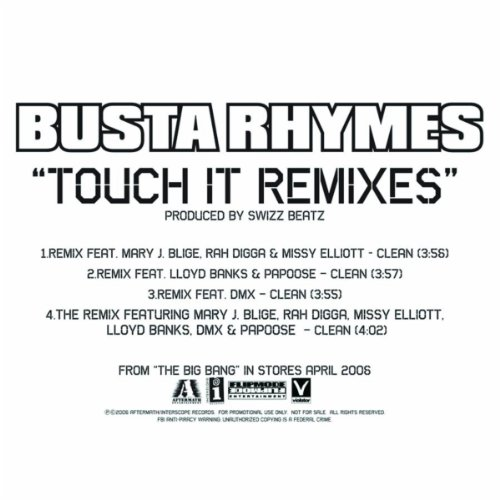 Touch It (Remix/Featuring Mary...
