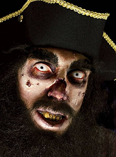 (Feste Feiern Halloween Schmink Set I 2 Teile Latexmilch Gazestreifen Maske Effekt Fake Tattoo Party Deko Theater Horror)