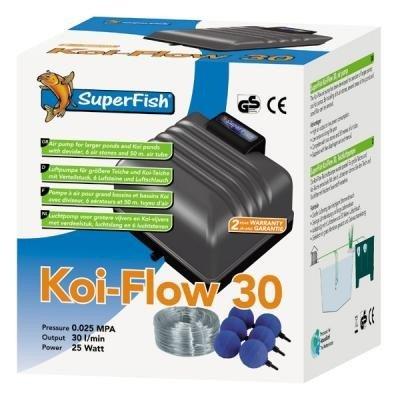 Koi Flow 30 Belüftungsset inkl. Schlauch u. Ausströmer