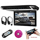 "XTRONS® 10"" HD Digital TFT Monitor Car Roof Flip Down Overhead DVD Player"