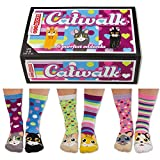 Catwalk–6Damen-Oddsocks von United Oddsocks