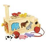 Bigjigs Toys Camion con forme animali