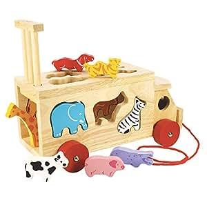 Bigjigs Toys Animal Shape Lorry