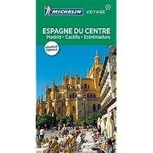 Guide Vert Espagne du centre, Madrid, Castille, Estrémadure Michelin