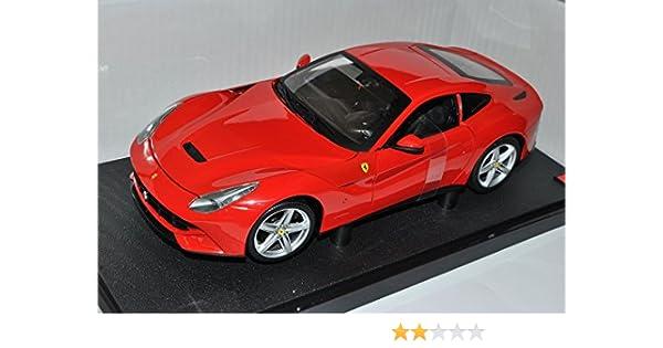 Ferrari F12 Berlinetta Coupe Rot 1//43 Mattel Elite Modell Auto mit oder ohne i..