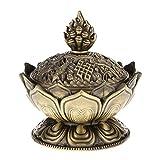 Quemador de incienso, de Grifri Lotus, de bronce