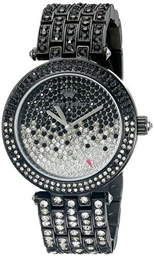 Juicy Couture 1901326display analogico al quarzo nero orologio da donna