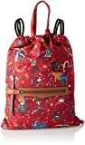 piero guidi Backpack Zaino Donna, (Rosso), 43.0x33.0x2.0 cm (W x H x L)