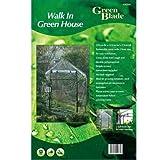 Green Blade Walk in Garden Serra con scaffalatura GH250, Verde