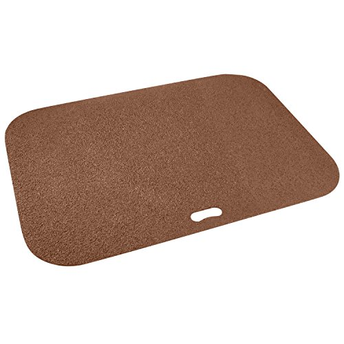 Alfombrilla para parrilla de The Original Grill Pad GP-42-C, color marrón, rectangular
