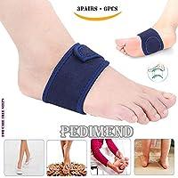 Plantarfasziitis Kissen Arch Unterstützung mit Gel Therapie von pedimend (3pairs–6)–Orthopädische Fuß Kissen... preisvergleich bei billige-tabletten.eu