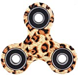 Tri Fidget Hand Spinner Toy Stress Reducer High Speed Ceramic Bearing Fidget Toy Can Continue to Rotate for 2-4 minutes - Perfect For Anxiety Adult Children