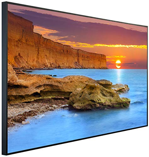 InfrarotPro | Infrarotheizung 900 Watt | Bildheizung 120x75x3 cm | Made in Germany | Geprüfte Technik | Ultra-HD Auflösung | (Grand Canyon)