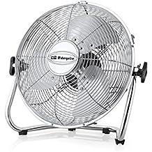 Orbegozo PW 1332 – Ventilador industrial, Power Fan, potencia 50 W, 3 velocidades, diámetro hélice 30 cm, asa de transporte
