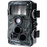 Zacro Wildkamera 12MP 1080P Full HD Jagdkamera 120 Grad Weitwinkel Vision Tierbeobachtungskamera Infrarote 20m Nachtsicht mit 2.4