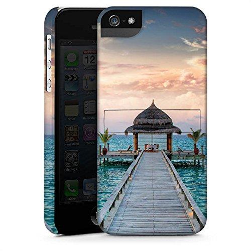 Apple iPhone X Silikon Hülle Case Schutzhülle Steg Urlaub Meer Premium Case StandUp