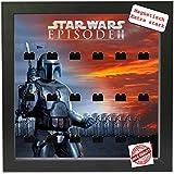 Magnetischer Setzkasten Vitrine Star Wars Episode 2 für LEGO® Minifiguren Pic1