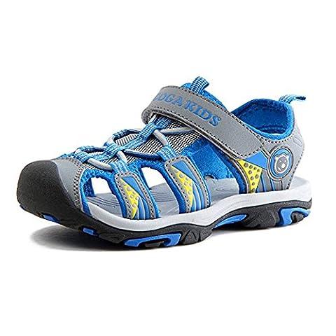 Gloria JR Kinder Outdoor Athletic Sandale F¨¹r Jungen Kinder (38 EU (5 UK =24 CM), Blau(Blue))