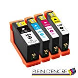 Pack 4 cartouches N°100 XL pour imprimante LEXMARK Genesis S815 Impact S301 S305...