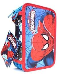 Trousse Spiderman 3compartiments