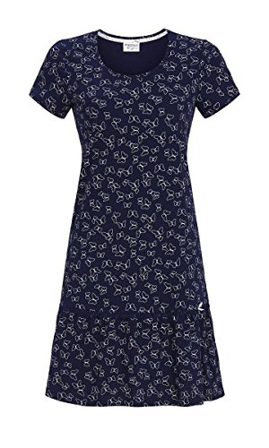 Ringella Lingerie Damen Nachthemd mit Volant Night 48 9261015, Night, 48