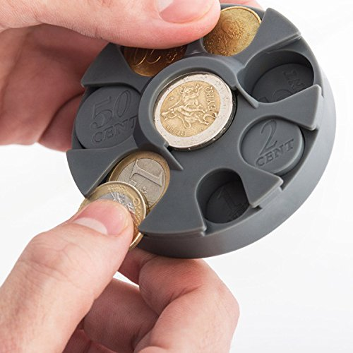 Portamonete porta monete monetine euro spiccioli dividi soldi monetina