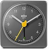 Braun - Reloj despertador, color gris