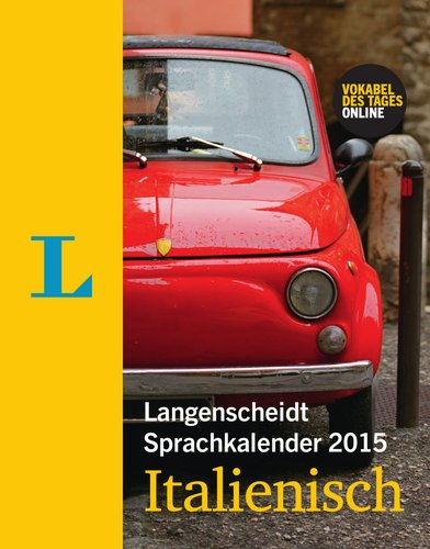 Langenscheidt Sprachkalender 2015 Italienisch