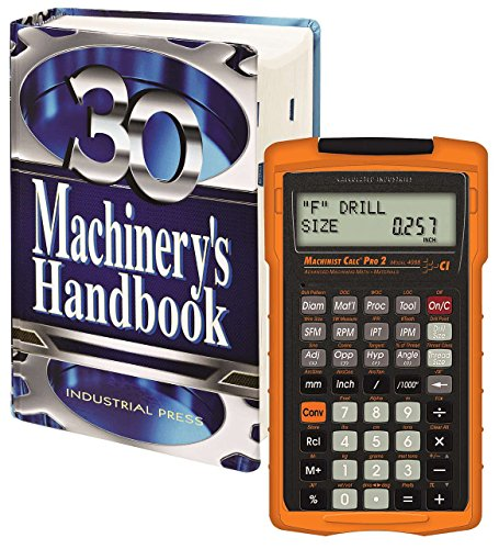 Machinery's Handbook, Toolbox & Calc Pro 2 Combo -
