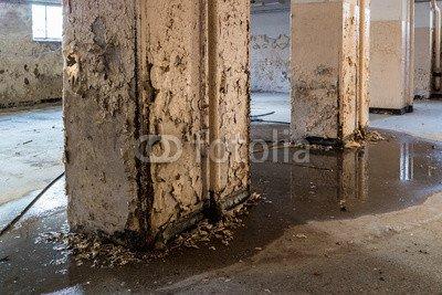 druck-shop24 Wunschmotiv: Feuchter Keller Bauschäden #104472793 - Bild auf Leinwand - 3:2-60 x 40 cm/40 x 60 cm