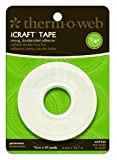 Therm-o-Web iCraft- Cinta adhesiva ( 6 mm), color blanco