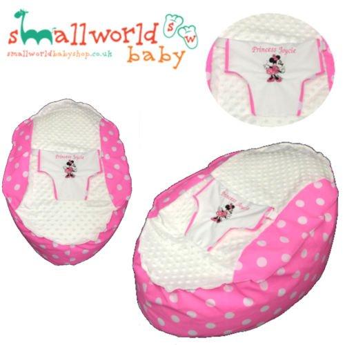 Personalisierte Minnie Mouse Baby Sitzsack