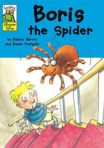 Boris The Spider (Leapfrog Rhyme Time) by Damian Harvey (2008-06-12)