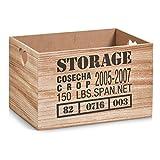 Zeller 15123 Aufbewahrungs-Kiste Storage