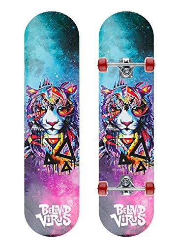 Grist CC Kinder Skateboard Cruiser Komplettboard für Erwachsene Jugendliche Kinder Jungen Mädchen