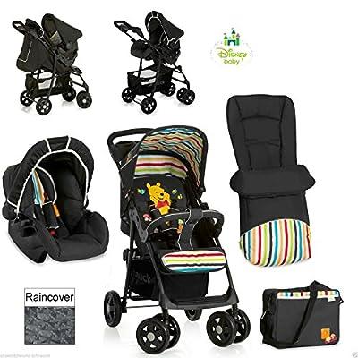 Nuevo sistema de viaje Hauck Disney Winnie The Pooh tidytime carro carrito cochecito de bebé negro en stock ahora