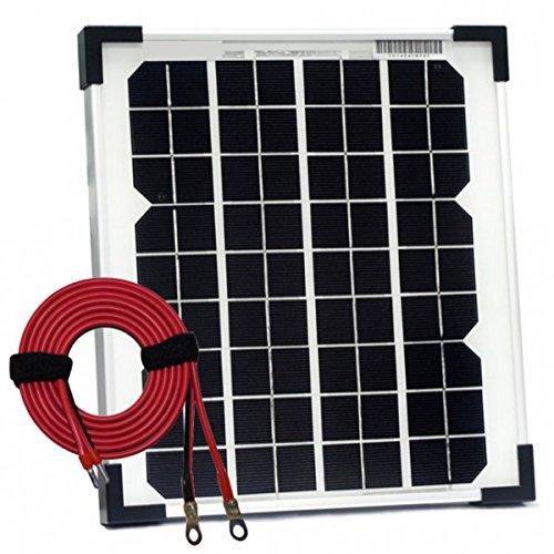 Potencia nominal: 10 W. Voltaje de alimentación máximo: 18 V. Potencia máxima de salida: 0,56 A. Voltaje de circuito abierto: 22,3 V. Corriente de circuito corto: 0,57 A. 36 celdas (4 x 9). Marco de aluminio resistente a los golpes y a los golpes. Vi...