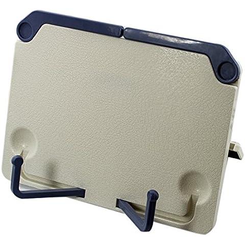Ckeyin ® Portable Estante de lectura del escritorio y soporte ajustable comprimido plegable y Atril documentos