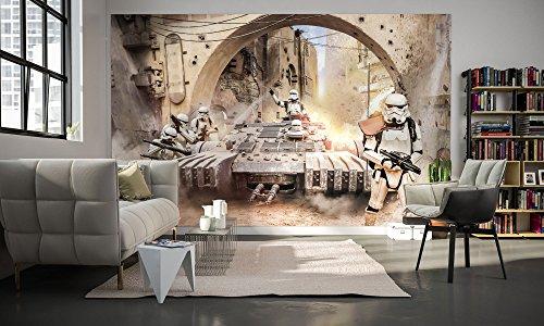 Komar - Star Wars - Vlies Fototapete TANKTROOPER - 400 x 250 cm - Tapete, Wand Dekoration, Sturmtruppler - 027-DVD4