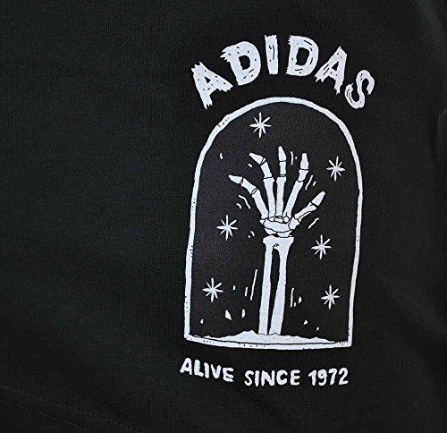 Adidas Off Placement + Shirt, Herren Schwarz