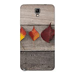 Impressive Leaves on Wood Back Case Cover for Galaxy Note 3 Neo