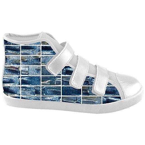 Mosaïque dalliy Verre Carrelage Texture Kids Canvas Shoes Chaussures Footwear Sneakers Shoes Chaussures B