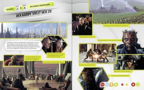 Ravensburger tiptoi ® Bücher Set – Star Wars TM Buch Episode I-VI und Episode 7 – Das Erwachen der Macht + Star Wars Sticker - 6