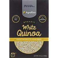 Gluten Free Organic White Quinoa by Agrofino , 500g (Beige)