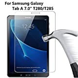 1 X Galaxy Tab A 7.0 Zoll Displayschutz, Glasfolie 9H Hartglas Tempered Glass Panzerglas Schutzfolie für Samsung Galaxy Tab A T280/T285 7.0 Zoll (17.8 cm) Screenguards
