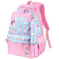 Vbiger School Bags Kids Backpack Toddler Backpack Waterproof Lightweight Backpack Book Bag for Primary School Girls with Pencil Case