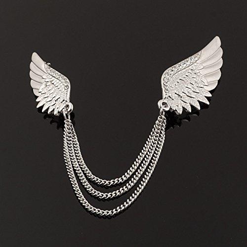 Koreanische high - end - Engel flügel - brosche. - Su - Männer und Frauen MIT schmuck Persönlichkeit hemd anstecknadel (College Engel Kostüm)