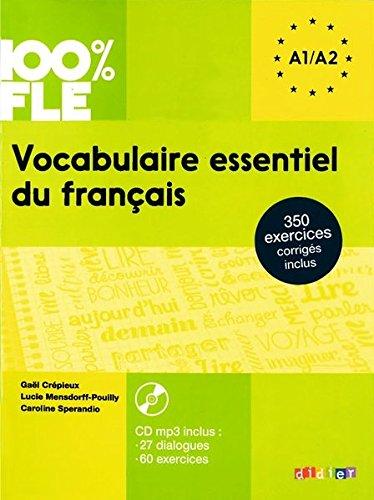 Vocabulaire essentiel du français niv. A2 - Livre + CD