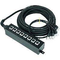 Omnitronic Multicore Escenario cuadro 8in 20m 20m Cables