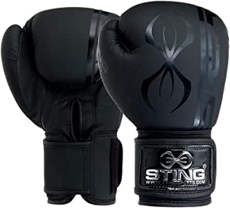 Adidas Hybrid 300X Leather Boxing Gloves Sparring Training Boxercise Fight Glove